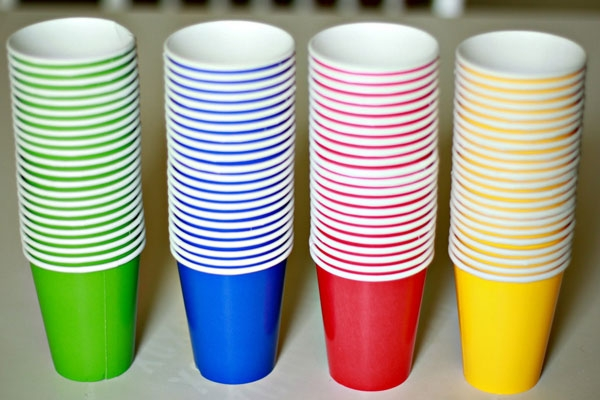 Бумажные стаканы для кофе и крышки Стаканы для кофе с