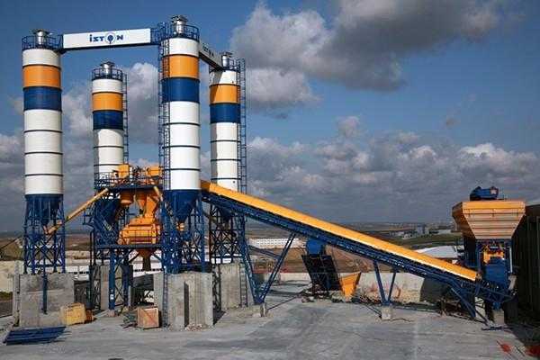 Бетонно–смесительный завод