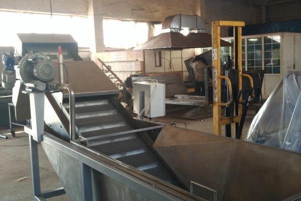 Оборудование для переработки картофеля, овощей и фруктов