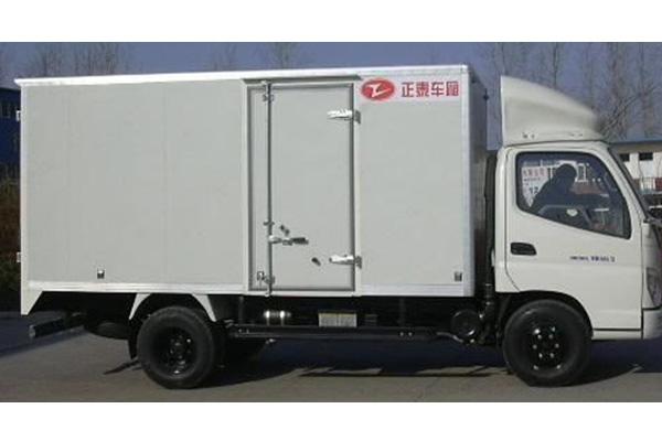 Грузовик JAC HFC1040K (фургон)