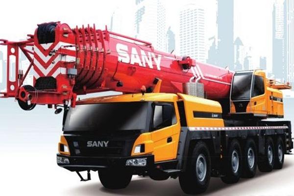 Кран самоходный колёсный PALFINGER SANY STC1000C