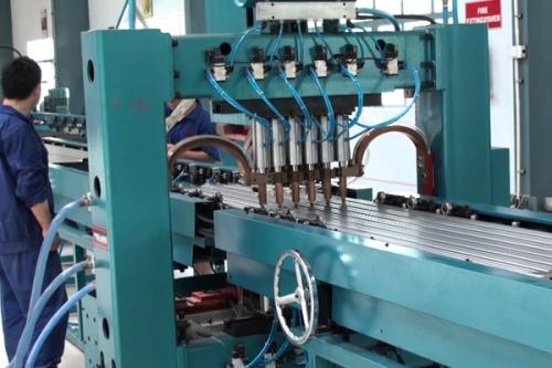 Линия производства алюминиевых радиаторов