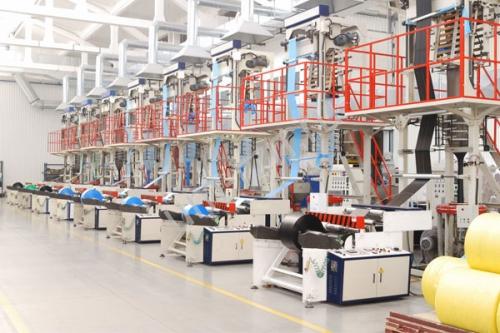 Линия по производству полиэтиленовых пакетов