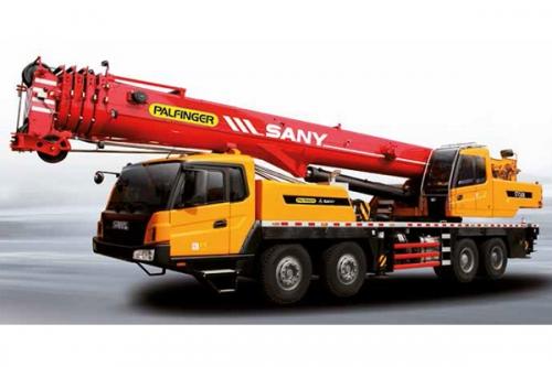 Кран самоходный колёсный PALFINGER SANY STC600