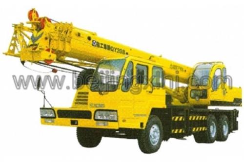 Кран самоходный колёсный QY20B  20тн