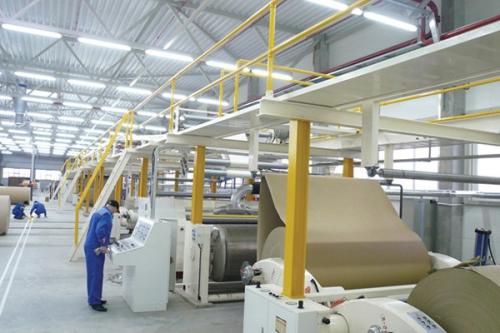 Линия по производству гофрокартона
