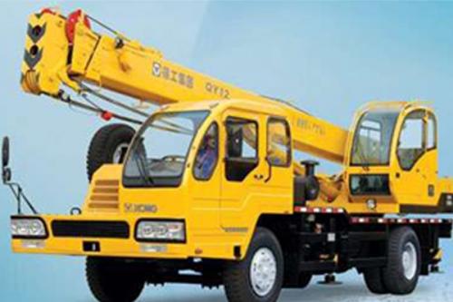 Кран самоходный колёсный QY12 12тн
