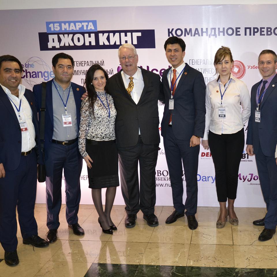Узбекско-Китайский Торговый Дом выступил в роли генерального тематического партнера на семинаре Джона Кинга