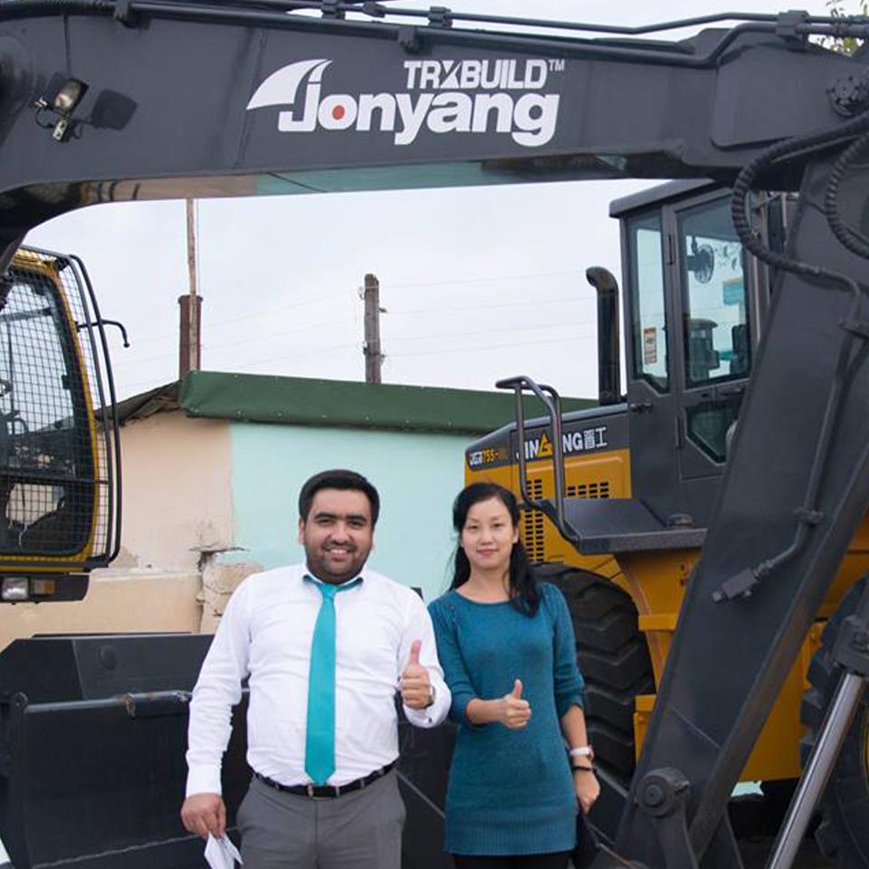Встреча с партнерами — представителями завода «Jonyang»