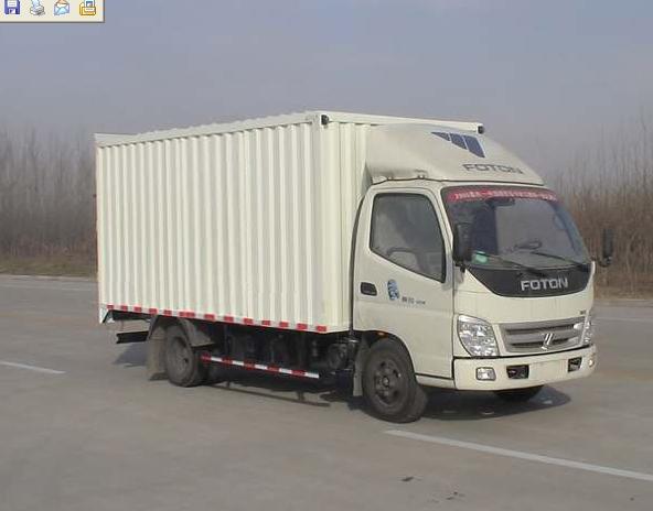 BJ5049V9BW6-1 FOTON Рефрижератор 2т