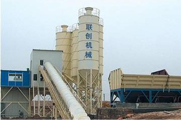 Бетон тайёрлайдиган завод HZS60