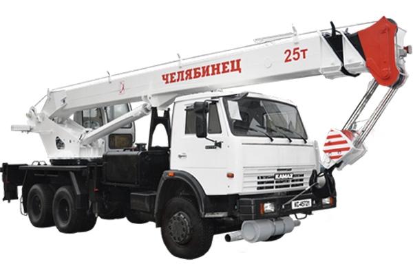 «ЧЕЛЯБИНЕЦ» - автокранларнинг шасси КАМАЗ-65115 (6X4)га  янгиланган серияси.
