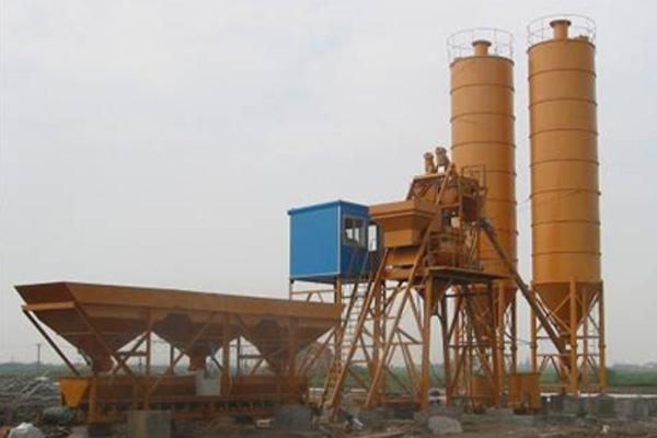 Бетонный завод HZS20