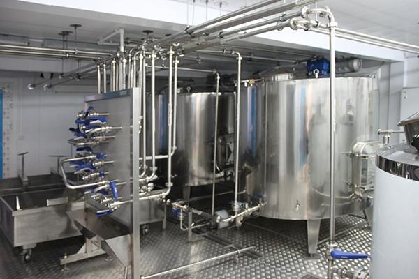 Линия по переработке молока