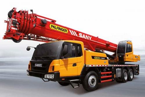 Кран самоходный колёсный «PALFINGER SANY STC300B»