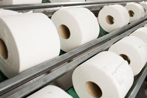 Линия по производству туалетной бумаги