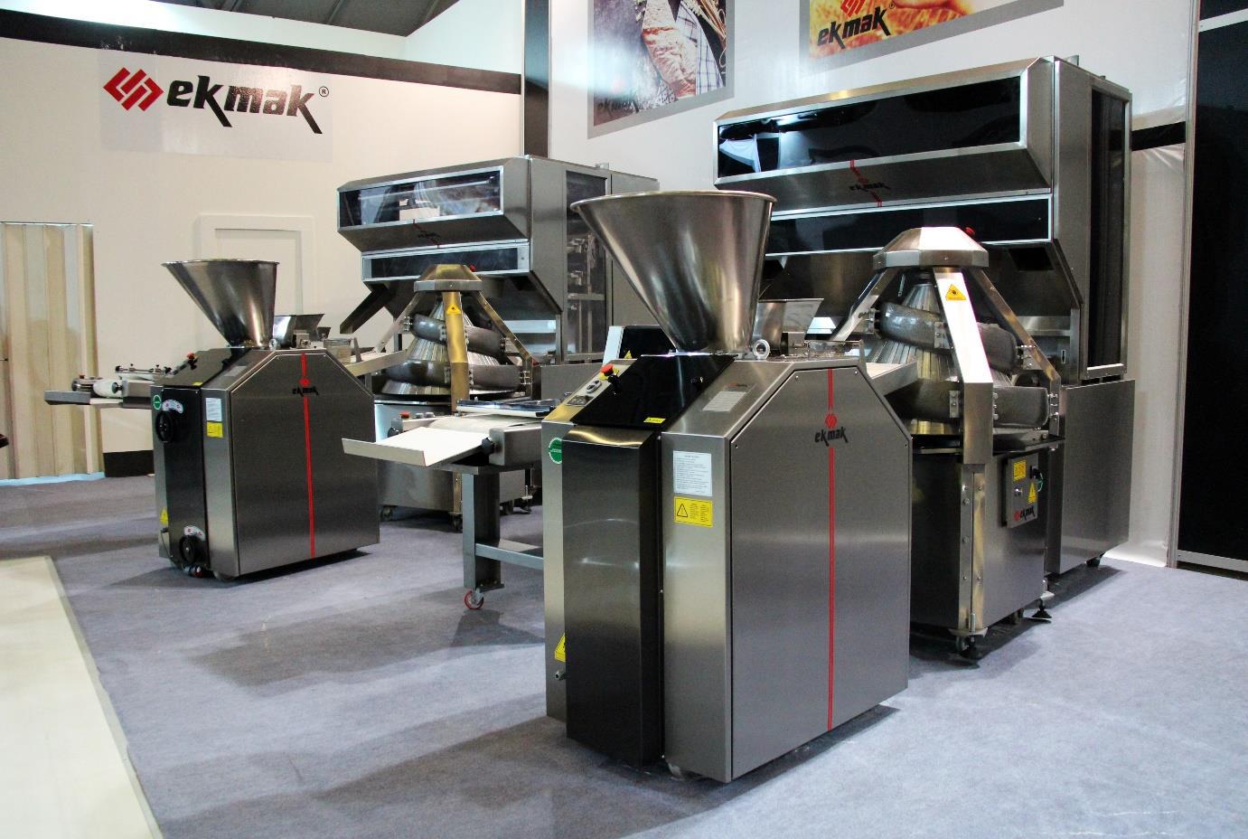 EKMAK - турецкое хлебопекарное оборудование